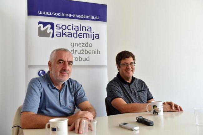 Matej Cepin in Janko Korošec za Družino spregovorila o Socialnem tednu 2020