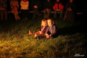 Otroci poslušajo in opazujejo Foto: Matjaž Maležič