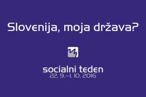 ZNAN JE NASLOV SOCIALNEGA TEDNA 2016