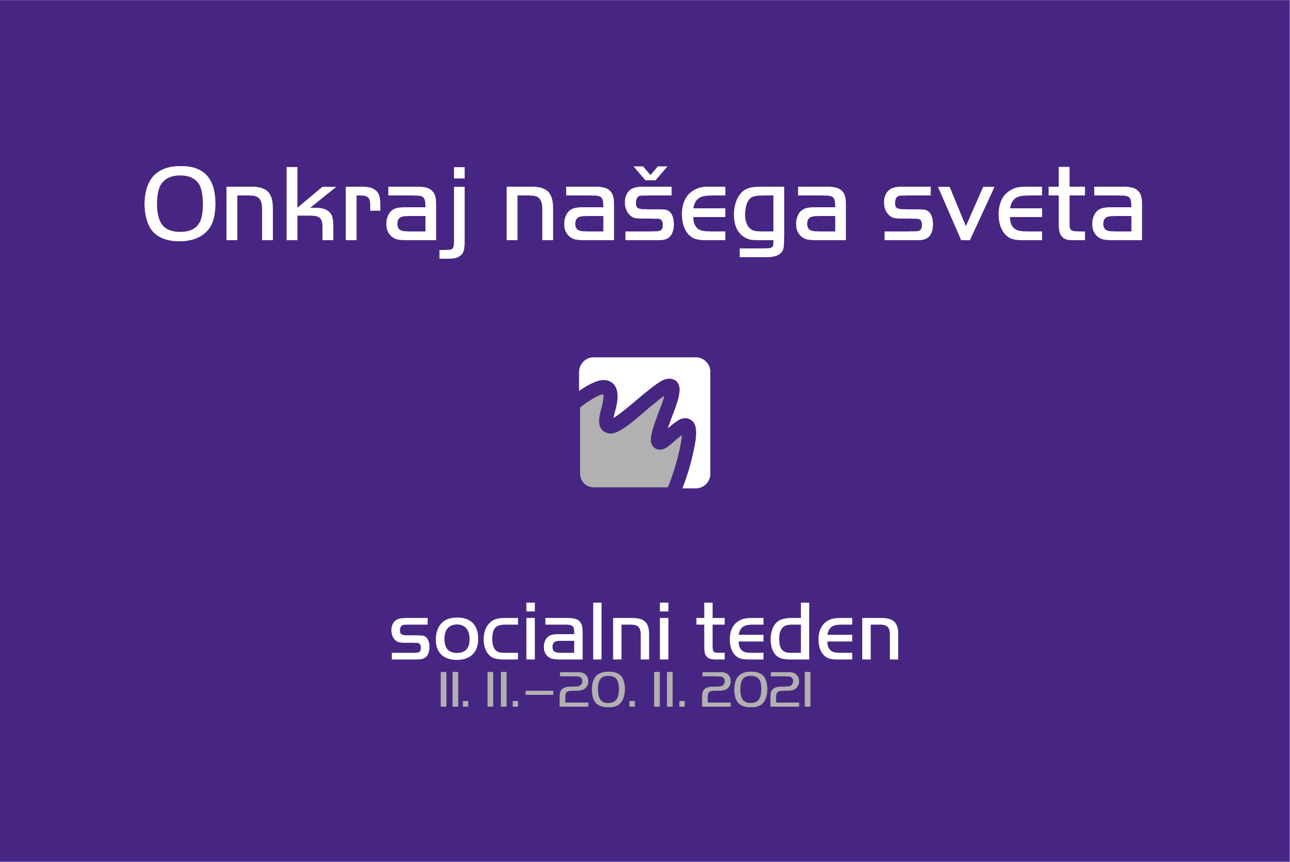 Poslanica Socialnega tedna 2021